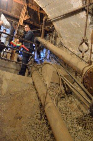 Grass Valley, كاليفورنيا: Inside the miner's shaft