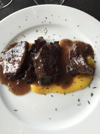 Sant Feliu de Pallerols, Espanha: Un restaurant incroyable, très belle vue depuis la table. Les plats sont très bon et traditionne