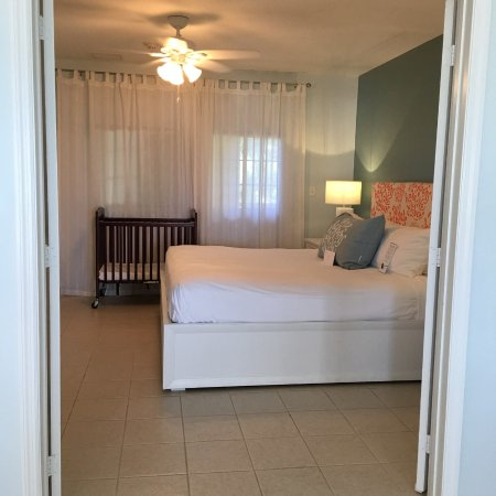 Bedroom with double doors - Picture of Beach House Turks & Caicos ...