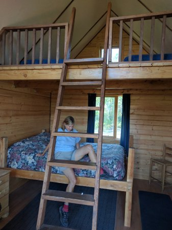 Kennicott River Lodge: One of the newer cabins, great for families
