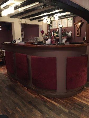 Kegworth, UK: Bar area