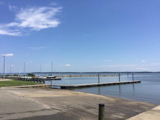 Leesylvania State Park: Du côté de la rampe de mise à l'eau des embarcations