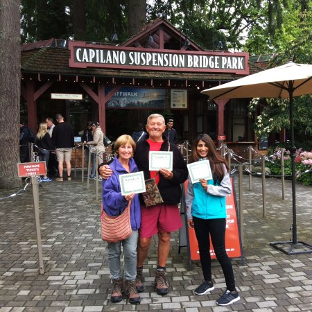North Vancouver, Canada: Certificates for all