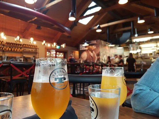 Fort Langley, Canada: Trading Post Brewing Taphouse & Eatery
