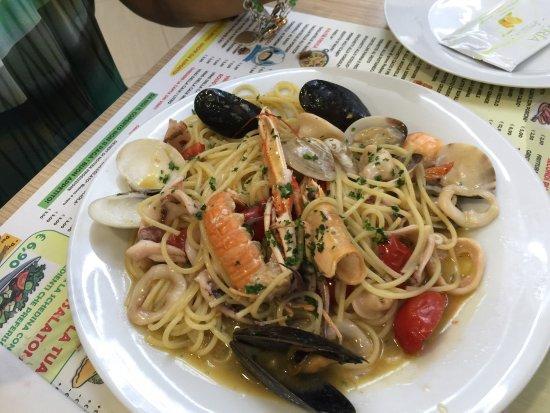 Fucecchio, Italien: Spaghetti allo scoglio