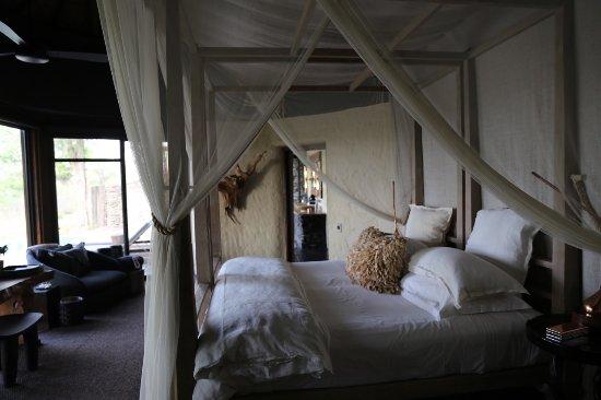 Singita Boulders Lodge: Bedroom 1