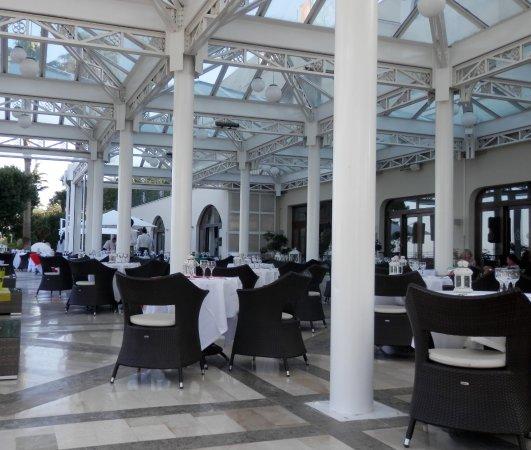 Tui Sensimar Grand Hotel Nastro Azzurro: Terrace