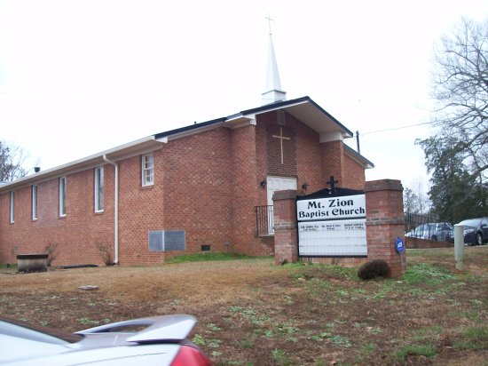 Mount Zion Baptist Historical Church & Cemetery