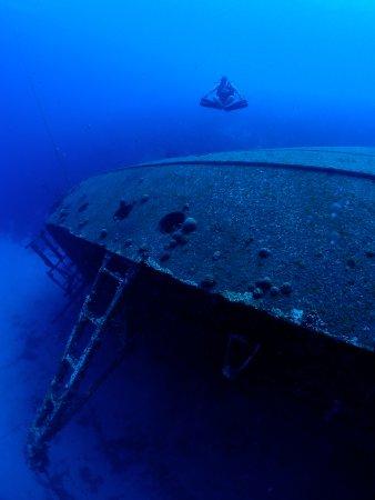 คราเลนดิจค์, โบแนร์: Wreck of the Hilma Hooker in Bonaire.