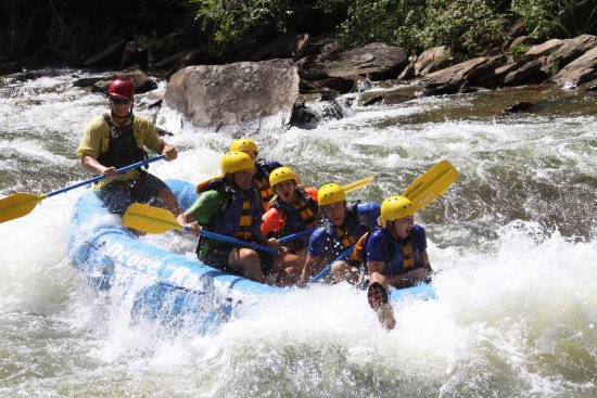 Ducktown, TN: Top notch white water rafting! Our guide Avery was professional yet super fun and informative.