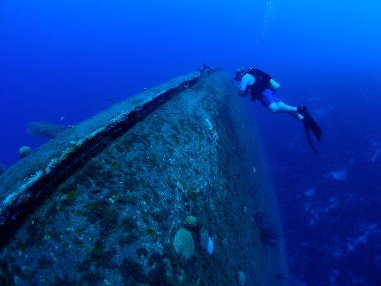 Kralendijk, Bonaire: Wreck of the Hilma Hooker in Bonaire.