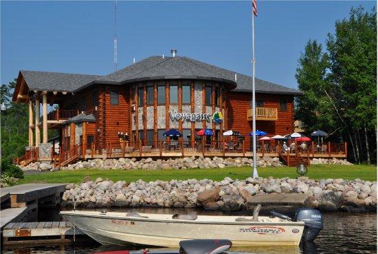 Crane Lake, Миннесота: New Lodge built in 2013
