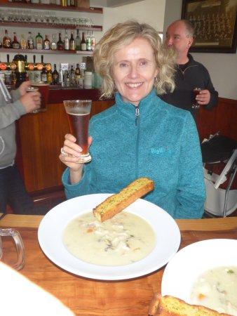 Portobello Hotel: Best seafood chowder eva!