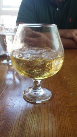 Scotch on the rocks at Eli's