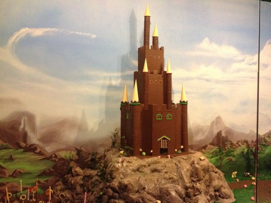 Kissimmee, FL: Handmade chocolate castle