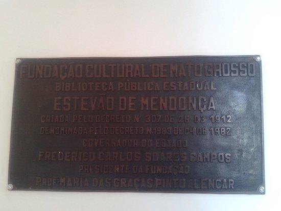 Estevão Mendonça Public State Library