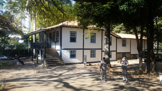 Abilio Barreto Historical Museum : The beautiful 19th century house in which the permanent exhibition is housed.