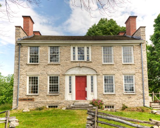 Lancaster, estado de Nueva York: Hull Family Home & Farmstead