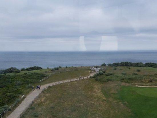 Truro, MA: View to Atlantic Ocean