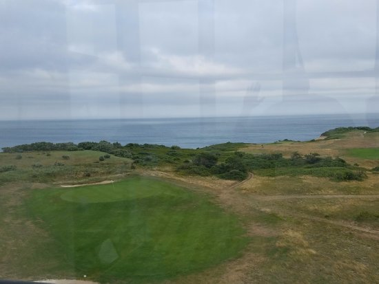 Truro, MA: View to Atlantic Ocean - saw whales