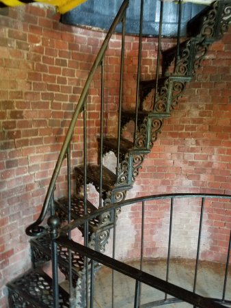 Truro, MA: Stairway to top