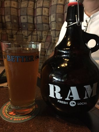 Salem, Oregón: Ram Restaurant & Brewery