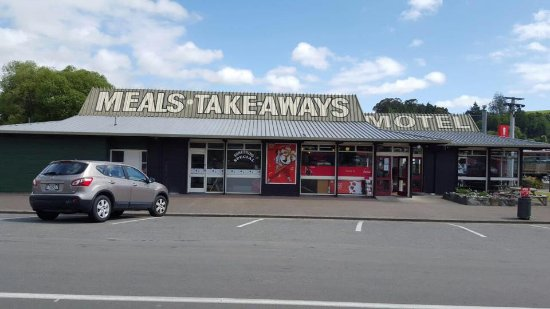 Hunterville, Nova Zelândia: Coffee | Meals | Takeaways | Free WiFi | Parking