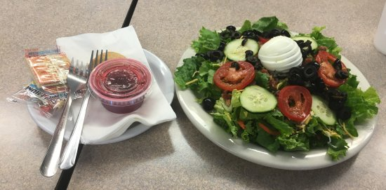 Stone Soup: BLT salad with raspberry dressing