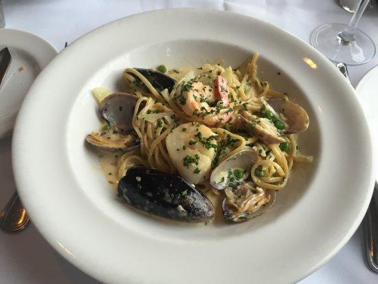 Courtenay, Canadá: Seafood Pasta