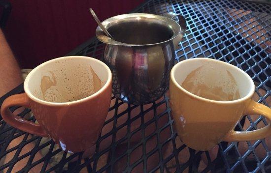 Hola! Cuban Cafe: Colada, already gone...yum