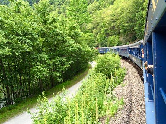 Jim Thorpe, PA: I love trains!!!