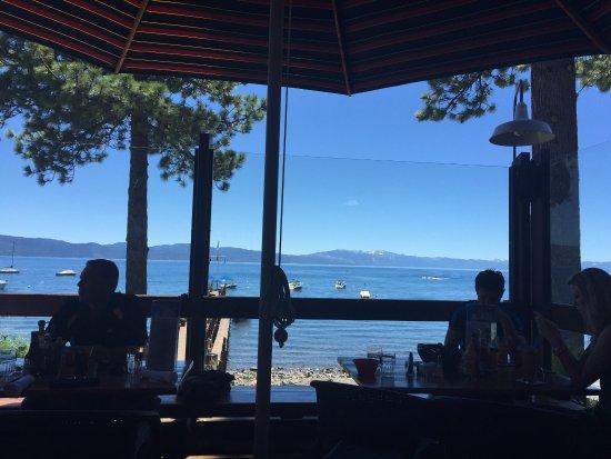 Carnelian Bay, Калифорния: Gar Woods Grill & Pier Restaurant