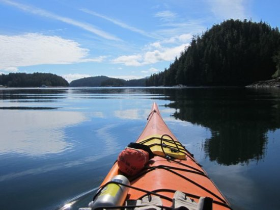 Telegraph Cove, كندا: The peaceful serenity of the Broughton Archipelago is captivating!