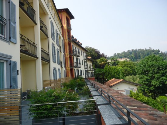 Hotel Belvedere Bellagio: smaller balconies and terraces