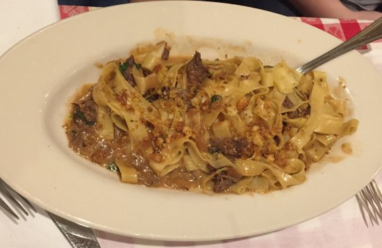 Braised Beef Pappardelle - Picture of Maggiano's Little ...