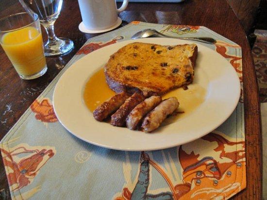 Casa de los Desperados: The first morning's breakfast