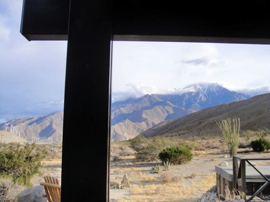 Casa de los Desperados: The view from our private porch (King Room)
