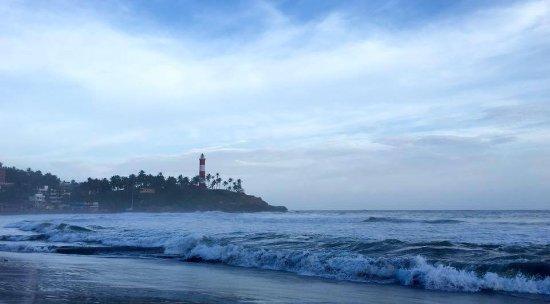 Black Sand Lighthouse Beach