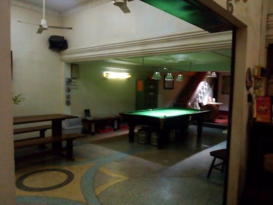 Rosy Guest House: Pool Table area