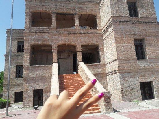 Rio Bravo, México: Ex hacienda Sauteña «la casa de los ladrillo».