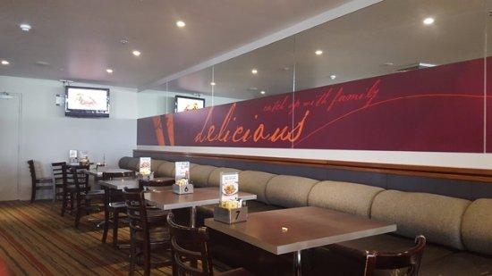 Caloundra, أستراليا: Indoor section