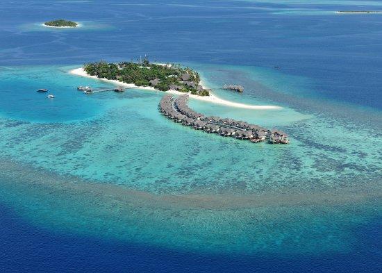 Raa Atoll: View from the sky at Loama Resort Maldives at Maamigili