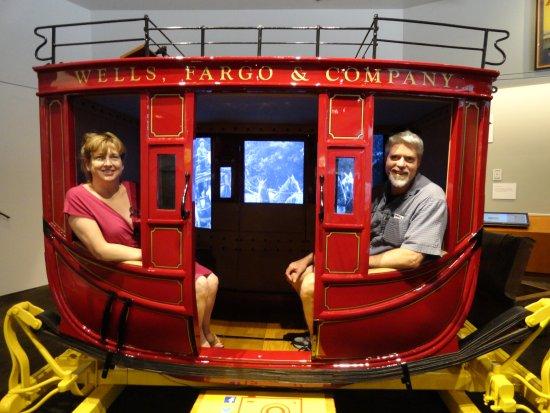 Wells Fargo History Museum : Authentic replica. Seats 9!