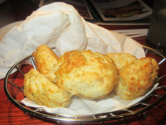 Complementary Cheese Biscuits, Red Lobster, Milpitas, CA
