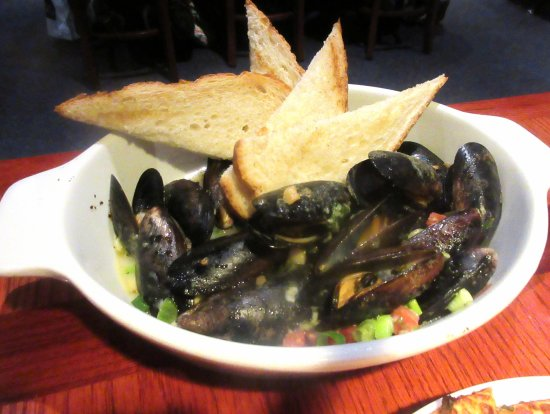 Mussels, Red Lobster, Milpitas,, CA