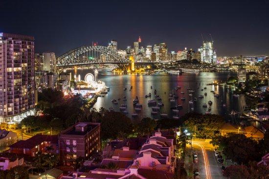 North Sydney, Australien: Stunning night time views