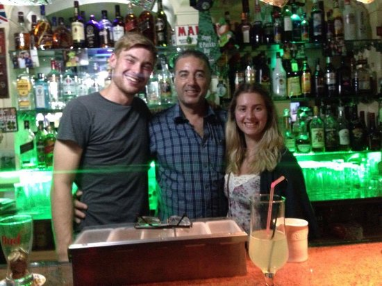 The Baron Bar: Lovely to meet you Geoffrey! From Hugh and Ellen, from Edinburgh, Scotland.