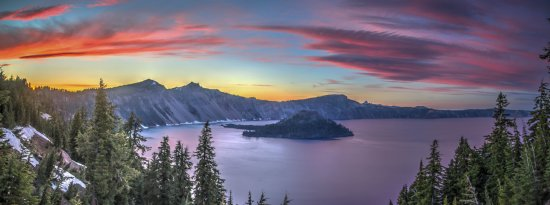 Wizard Island: Crater Lake