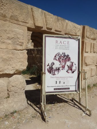 The Roman Army and Chariot Experience: Show's Gone, But The Sign Remains...