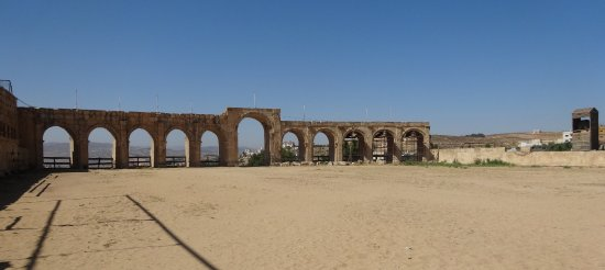 The Roman Army and Chariot Experience: This is where the show would take place if it was happening